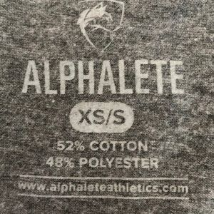 Alphalete Tops - Alphalete Crop Gray